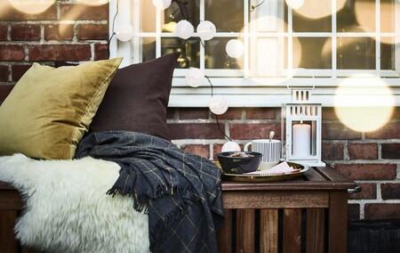 Renovando (sin obras) la terraza gracias a Ikea, y algunos consejos para seguir disfrutándola este otoño-invierno