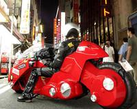 Réplica de la moto de Akira, ¡y circulando!