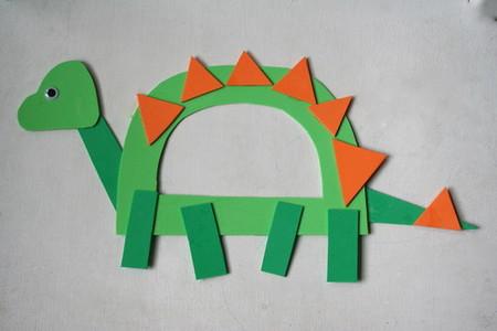 Manualidades Dinosaurios Letra