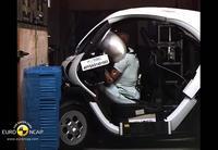EuroNCAP: ¿Y si estrellamos un Renault Twizy y a sus amigos?