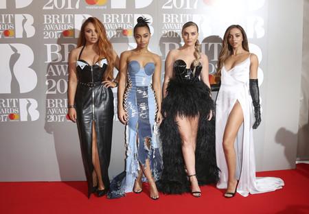 little mix brit awards 2017 peor vestidas