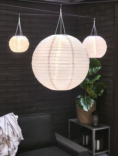 lampara para terraza ikea