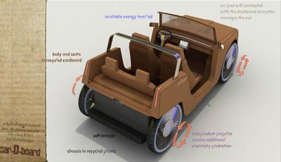 Car-D-board: el coche de cartón