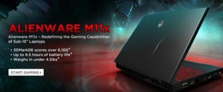 Alienware M11x, ultraportátil para jugones. Características finales y precio oficial