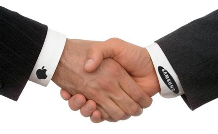 Apple y Samsung se sentarán a dialogar para tratar de zanjar la guerra de patentes