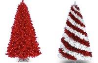Treetopia, árboles de Navidad con mucho color