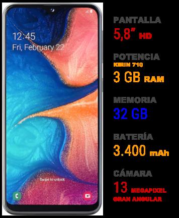 Samsung Galaxy A20e 1