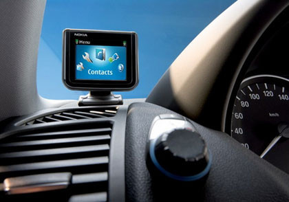 3GSM: Nokia Bluetooth Display Car Kit CK-15W