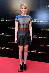 Jennifer Lawrence nos conquista totalmente por estos lares