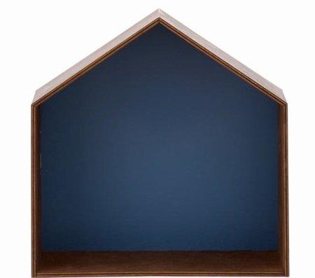 Mesilla de noche con forma de casita