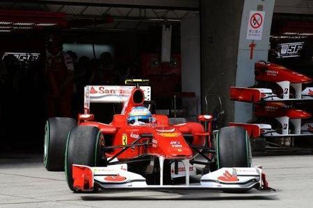 GP de España 2010: La FIA sanciona a Ferrari por el incidente entre Fernando Alonso y Nico Rosberg