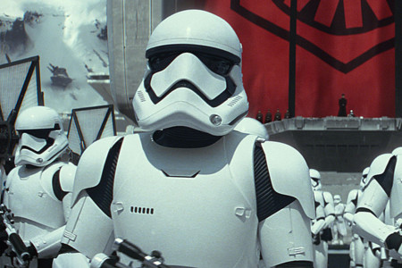 Un stormtrooper