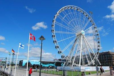 Gotemburgo desde la noria