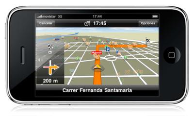 Navigon MobileNavigator para iPhone, lo probamos