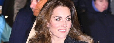 Kate Middleton se apunta a la tendencia del tweed y lo luce como look de noche