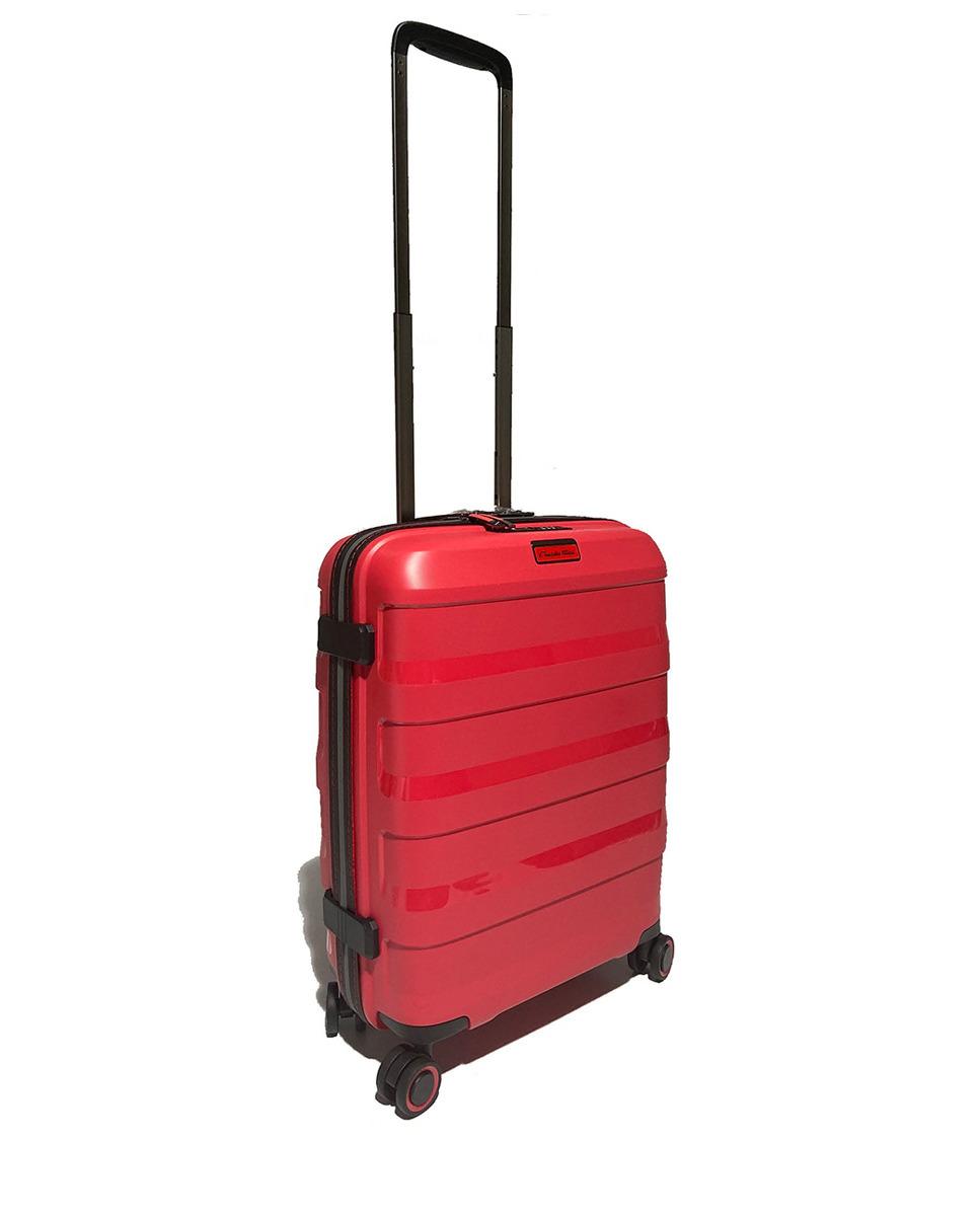 Maleta de cabina, rígida roja, con capacidad 38 L