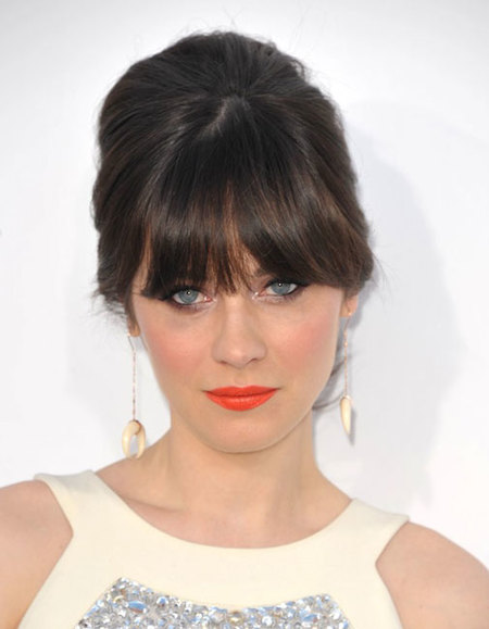 zooey deschanel flequillo