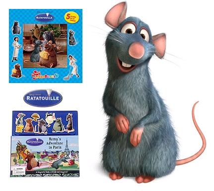 Ratatouille, libros y puzzles