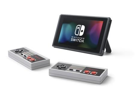 Con controles inalámbricos de NES es como Nintendo quiere que juguemos sus títulos clásicos en Switch