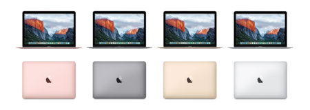 Colores macbook 2016