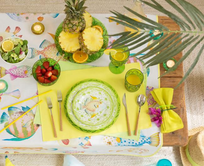 Seis ideas fabulosas para decorar tu mesa en verano