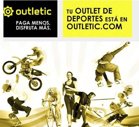 Outletic, ropa y accesorios de deporte con grandes descuentos