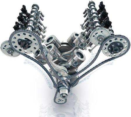 Motor V6 dCi