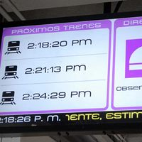 Por primera vez sabremos a qué hora llegan los trenes del Metro en Ciudad de México, aunque solo en una línea