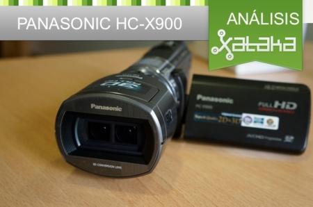Panasonic HC-X900, análisis