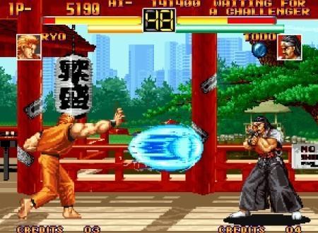 Art of Fighting Anthology para PS2