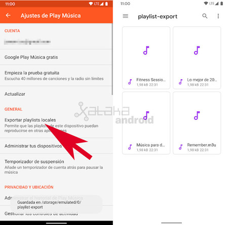 Play Music Playlist