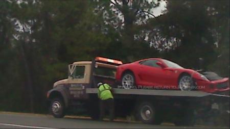 Ferrari 599 rescatado