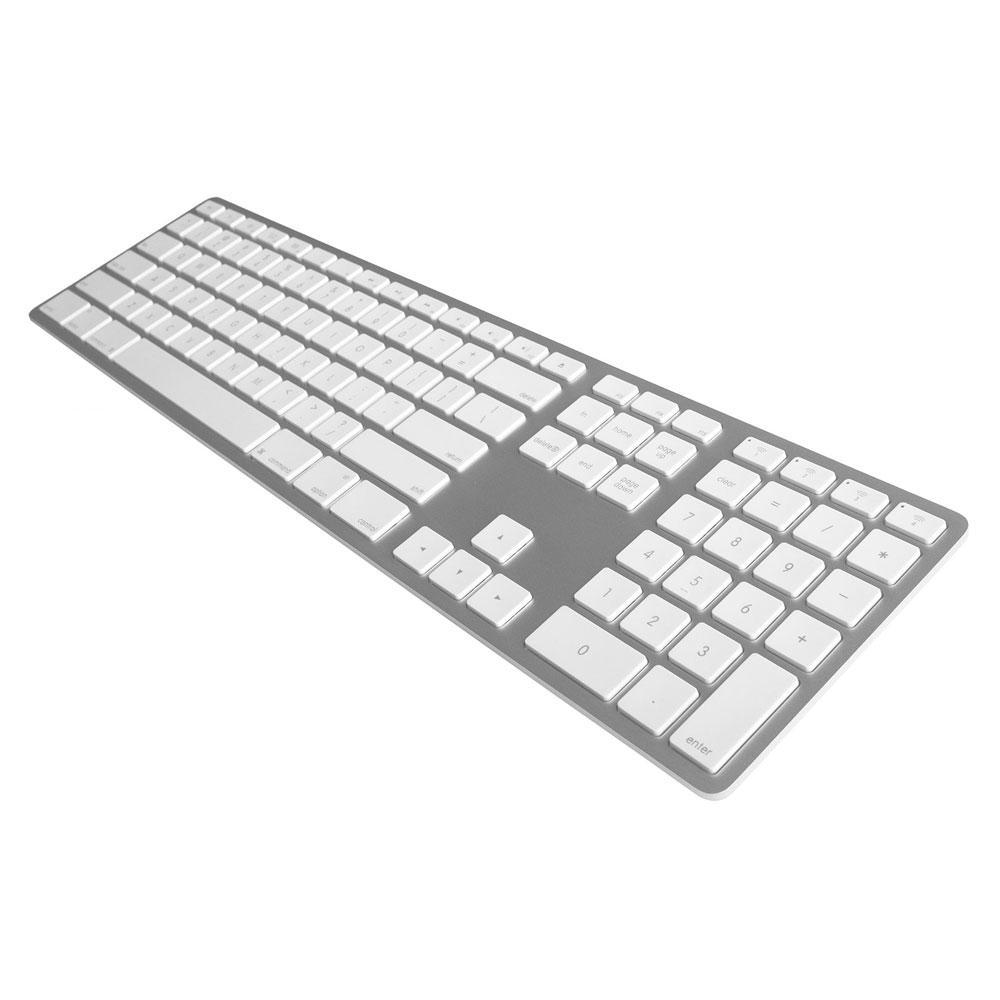 Matias Teclado Bluetooth Aluminio Numérico Español iOS y Mac Plata - FK418BTS-ES (05251)