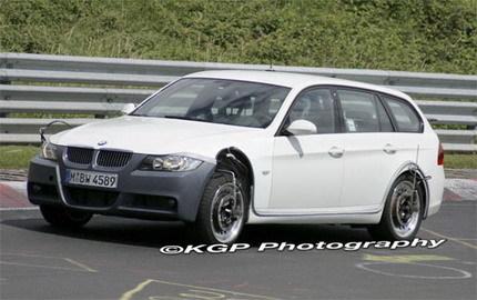 Fotos espía del... ¿BMW Serie V?