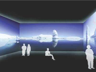 Transformar las paredes de nuestra casa en pantallas podría ser una realidad según Google