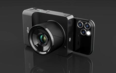 Alice Camera, una cámara computacional con inteligencia artificial que es una especie de híbrido entre sin espejo y smartphone