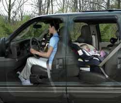 Cámara para vigilar a los niños dentro del coche