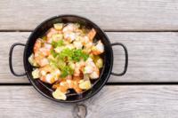 Paseo por la gastronomía de la red: recetas ligeras para iniciar el año