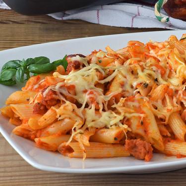 La mejor receta de macarrones con chorizo y otras siete recetas con macarrones para que tus platos de pasta sean más variados
