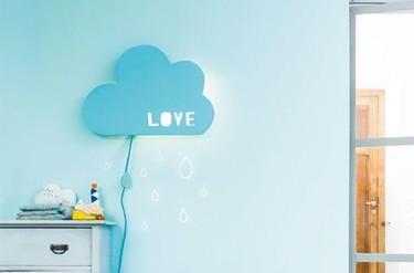 Hazlo tú mismo: una lámpara con forma de nube