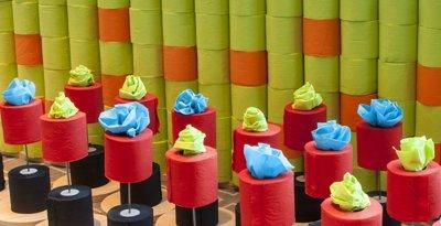 El papel higiénico de lujo existe y está de moda en medio planeta: ésta es su historia