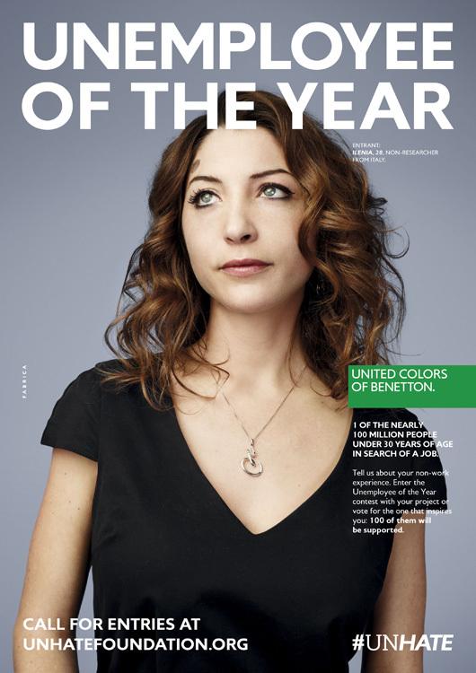 Foto de Benetton - Unemployee of the year (10/18)