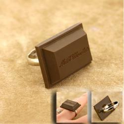 Un anillo de chocolate