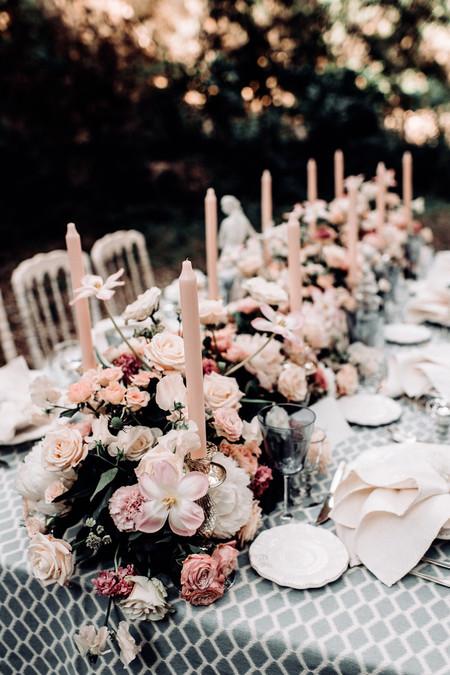 Centros de mesa para boda: viste tu mesa nupcial con estilo