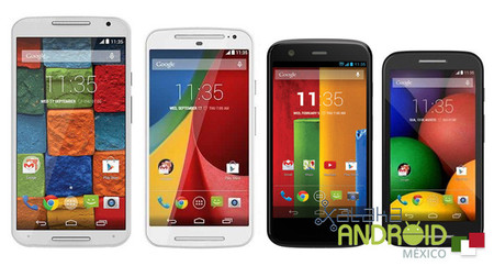 Motorola libera el código fuente de Lollipop para el nuevo Moto X, los Moto G y el Moto E