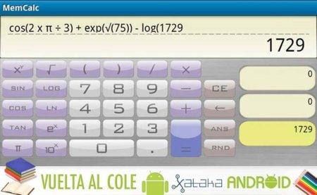 Las mejores aplicaciones Android vuelta al cole: Calculadoras científicas