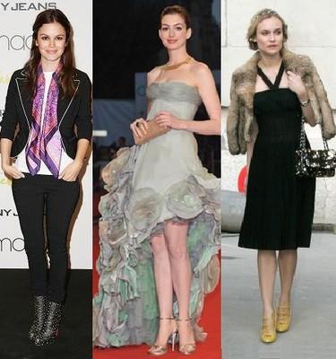 Las famosas mejor vestidas de 2008 según Trendencias