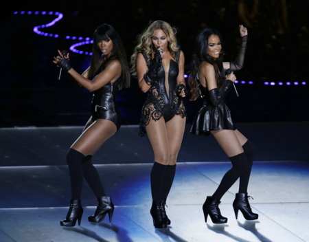 Destinys child Super Bowl 2013
