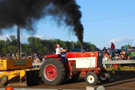 Tractor contaminante