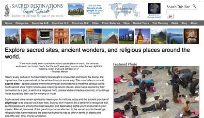 Sacred Destinations: guía de lugares sagrados